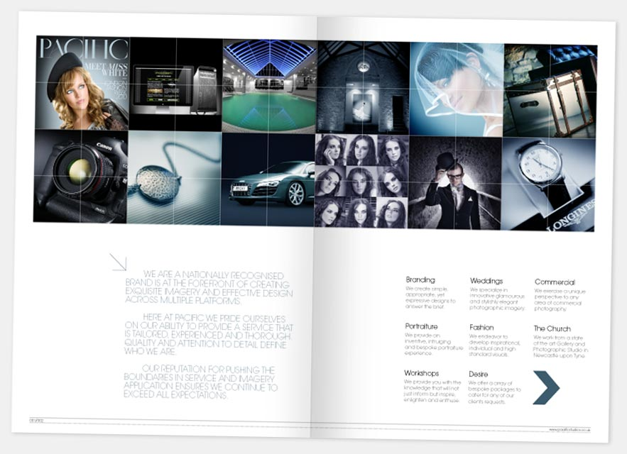 brochure design london
