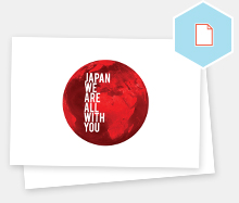 Japan We Are With You